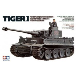 CARRO ARMATO TIGER I KIT 1/35