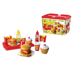 SET HAMBURGER 25 PZ
