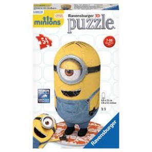 54 PZ PUZZLE 3D MINIONS