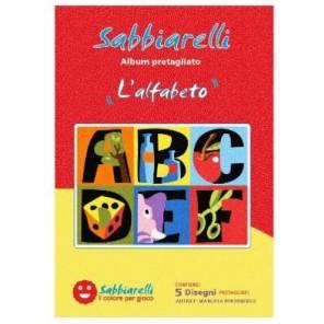 SABBIARELLI ALBUM L'ALFABETO