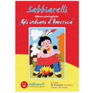 SABBIARELLI ALBUM GLI INDIANI D'AMERICA
