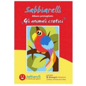 SABBIARELLI ALBUM ANIMALI ESOTICI