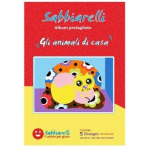 SABBIARELLI ALBUM GLI ANIMALI DI CASA