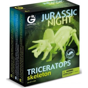 JURASSIC NIGHT TRICERATOPO