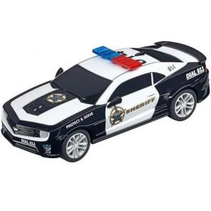 AUTO SLOT CARRERA GO CAMARO POLIZIA