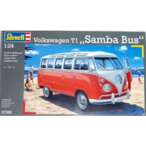 BUS VOLKSWAGEN SAMBA 1:24 KIT