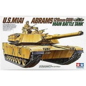 CARRO ARMATO US M1A1 ABRAMS KIT 1/35