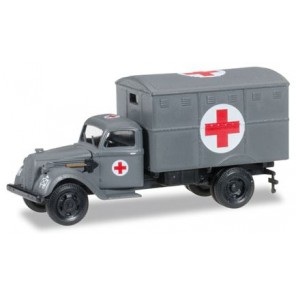 CAMION FORD 997T AMBULANZA 1/87