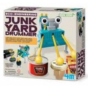 4M ROBOT JUNK YARD DRUMMER