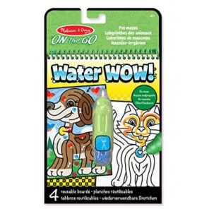 BLOCCO WATER WOW!LABIRINTI CON ANIMALI