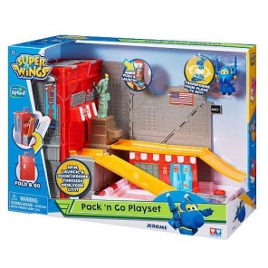 SUPER WINGS PLAYSET PACK'N GO