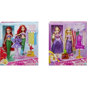DISNEY PRINCESS HAIR PLAY DELUXE
