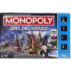 GIOCO MONOPOLY GIRO DEL MONDO NEW ED.