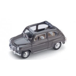AUTO FIAT 600D BEIGE 1/43