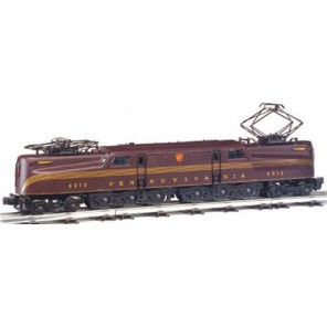 LOCO PRR TUSCAN RED STRIPE DCC H0