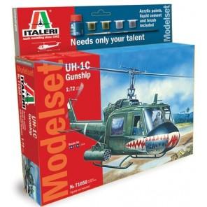 ELICOTTERO UH-1C GUNSHIP STARTKIT 1/72