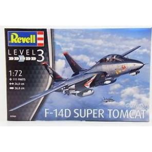 F-14D SUPER TOMCAT KIT 1/72