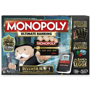 GIOCO MONOPOLY ULTIMATE BANK