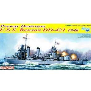 NAVE USS BENSON KIT 1/350