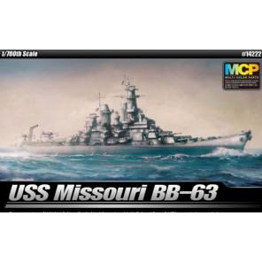 NAVE USS MISSOURI SNAPKIT 1/700