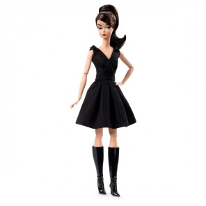 BARBIE CLASSIC BLACK DRESS