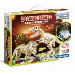 ARCHEOGIOCANDO T-REX&TRICERATOPO