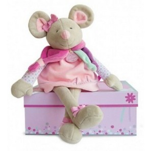 PELUCHE PEARLY MOUSE 35cm