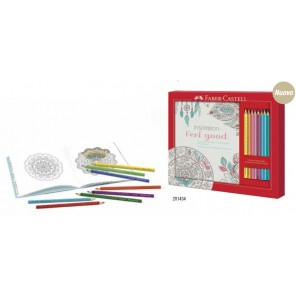 SET FEEL GOOD 8 COLORI + LIBRO