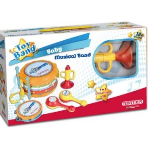 KIT MUSICALE BABY MUSICAL BAND
