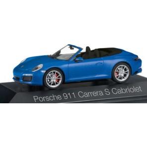 AUTO PORSCHE 911 CARRERA CABRIO 1/43