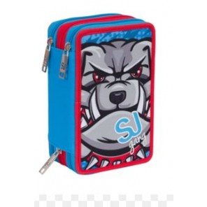 ASTUCCIO 3ZIP BOY SJ GANG ANIMALI 2017