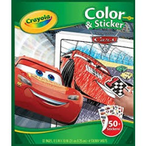 ALBUM ADESIVI & COLORING CARS