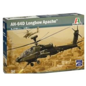 ELICOTTERO AH-64D APACHE KIT 1/48