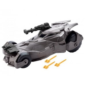 JUSTICE LEAGUE BATMOBILE CON CANNONE