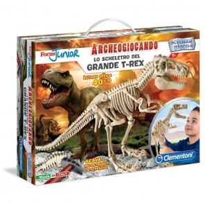 Archeogiocando scheletro t-rex