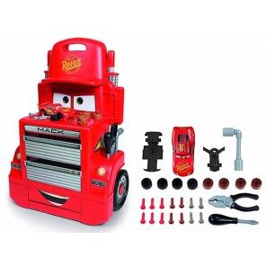 CARS 3 MACK TROLLEY CON ATTREZZI