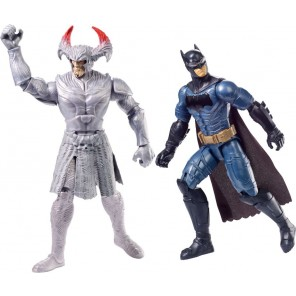 JUSTICE LEAGUE STEPPENWOLF VS BATMAN