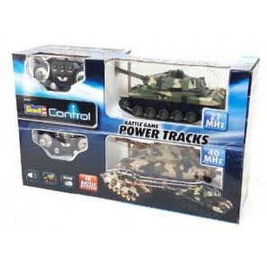 CARRI ARMATI R/C X 2 POWER TRACK