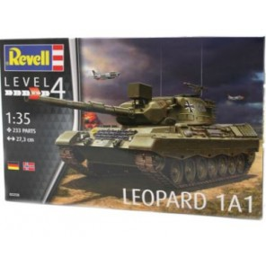 CARRO ARMATO LEOPARD 1A1 KIT 1/35