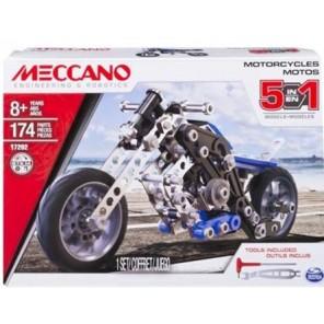 MECCANO SET MOTO 5 MODELLI