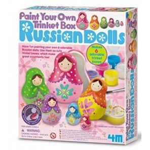 PAINT RUSSIAN DOLLS