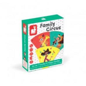 GIOCO CARTE 7 FAMIGLIE