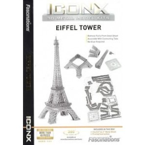 ICONX 3D METAL EARTH TORRE EIFFEL