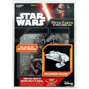 METAL EARTH 3D STAR WARS ASS.