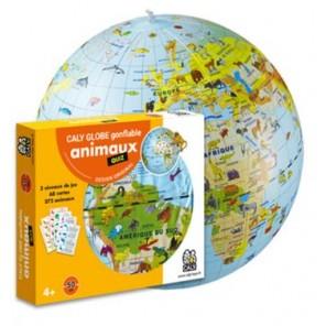 MAPPAMONDO MISSIONE ANIMALI + CARTE QUIZ