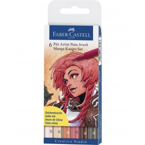 SET 6 ARTIST BRUSH MANGA