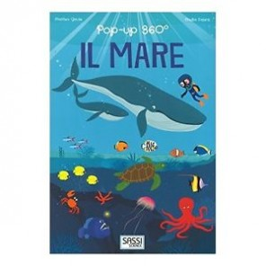 LIBRO POP-UP 360° IL MARE