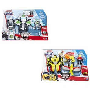 TRANSFORMERS RESCUE BOTS TEAM ASS