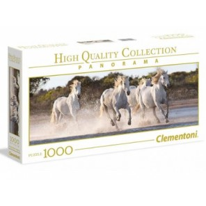 1000 PZ PANORAMA RUNNING HORSES