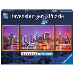 puzzle trittico notturno New York